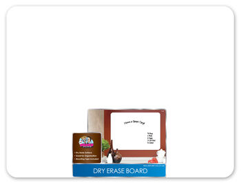 "The Board Dudes 18""x24"" Dry Erase Board"