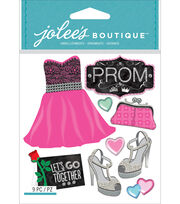 Jolee's Boutique Dimensional Stickers-Prom, , hi-res