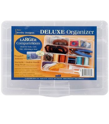 Jewelry Designer Deluxe Organizer-8 Compartments