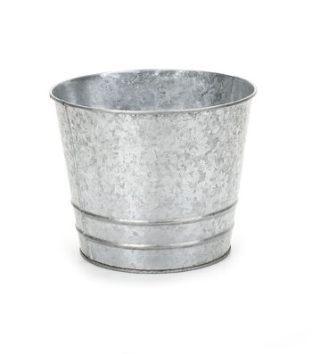 """Galvanized Tin Bucket-6"""""""