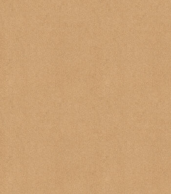 "Signature Series Solid Faux Suede Fabric 58""-Camel"