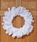 Angel Pine Wreath White 24\u0027\u0027