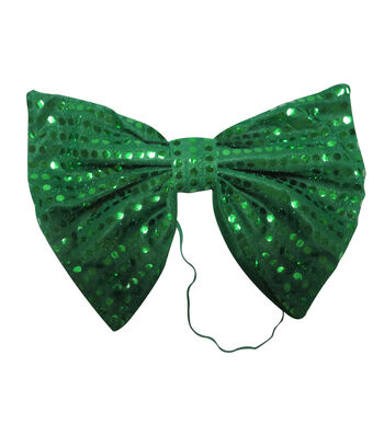 St. Patrick's Day Large Bow Tie-Green