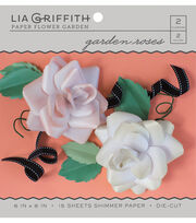 Lia Griffith Paper Flower Garden-Garden Roses, , hi-res
