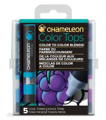 Chameleon 5 pk Color Tops Set-Cool Tones