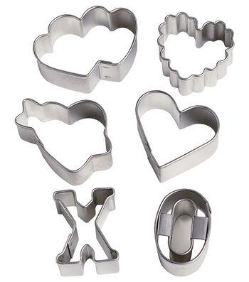 Wilton® Mini Cookie Cutter Set 6/Pkg-Sweetheart