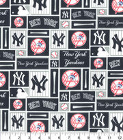 "New York Yankees Cotton Fabric 58""-Patch, , hi-res"