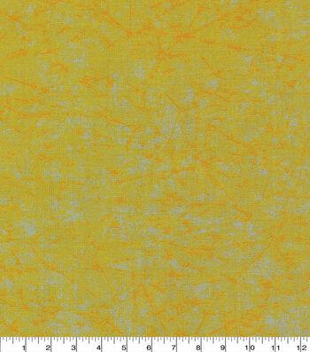 "Keepsake Calico™ Cotton Fabric 43""-Yellow Distressed"