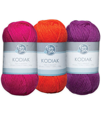Fair Isle Kodiak Yarn-Solids