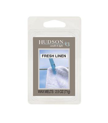 Hudson 43™ Candle & Light Collection Wax Melt-Fresh Linen