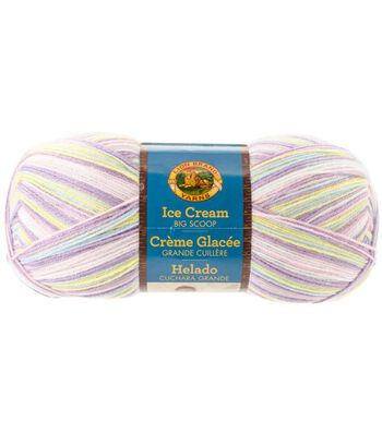 Lion Brand Ice Cream Big Scoop Yarn
