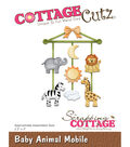 Cottagecutz Die-Baby Animal Mobile 2.2\u0022X3\u0022