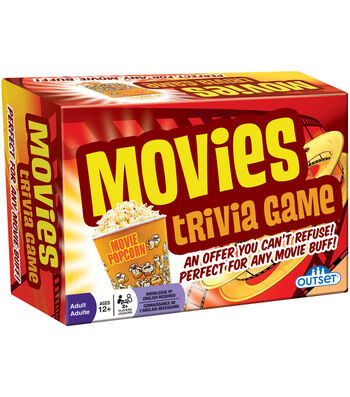 Outset Media 220 pk Movies Trivia Game