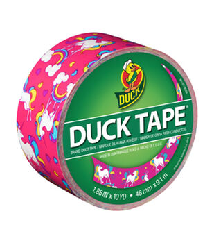 Craft tape colored duct tape duct tape designs joann printed duck tape br duct tape 188 in x 10 yd unicorn aloadofball Choice Image