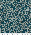 Robert Allen @ Home Lightweight Decor Fabric 54.5\u0022-Strie Toss Tourmaline