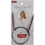 "Deborah Norville Fixed Circular Needles 40"" Size 10.5/6.5mm, , hi-res"