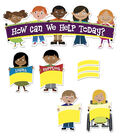 Busy Kids Learning Large Bulletin Board Set-Jobs to Do