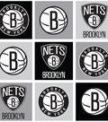 Brooklyn Nets Fleece Fabric 58\u0022-Block