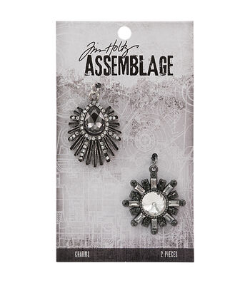 Tim Holtz® Assemblage 2 Pack Deco Finery Charms
