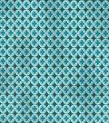 Two Daughters™ Premium Quilt Cotton Fabric 43\u0027\u0027-Majestic Peacock Tiles