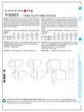 Mccall Pattern V8905 Xs-S-M -Vogue Pattern