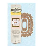 Spellbinders® Die D-Lites 3 Pack Etched Dies-Fleur De Lis Deco, , hi-res