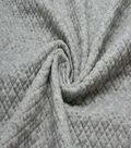Knit Bonded Fabric 58\u0022-Grey