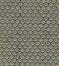 Vintage Cotton Fabric 43\u0022-Floral Scallops Grey
