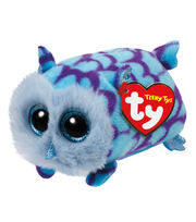 Ty Teeny Tys 4'' Mimi Owl-Blue, , hi-res