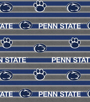 "Penn State University Nittany Lions Fleece Fabric 58""-Polo Stripe, , hi-res"
