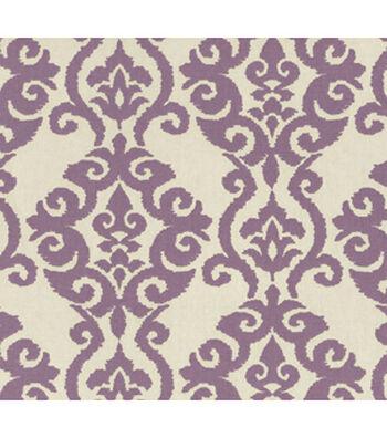 """Waverly Upholstery Fabric 54""""-Luminary Lilac"""