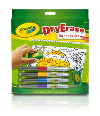 Crayola Dry-Erase On-The-Go Set