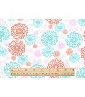 Nursery Cotton Fabric-Lilly Ao Tulip Print