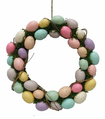 Easter Eggs Wreath-Bright