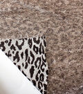 The Witching Hour Knit Fabric 58\u0022-Animal Print Hairy Brown
