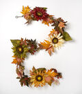 Blooming Autumn 66\u0027\u0027 Sunflower & Berry Garland-Multicolor