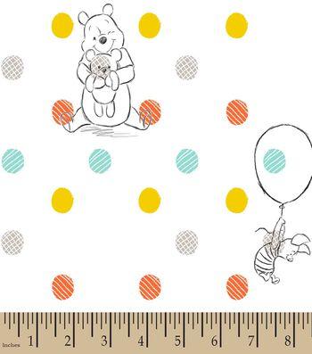 Disney® Pooh & Piglet Print Fabric