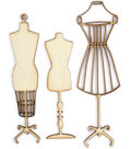 Wood Flourishes-Manequins