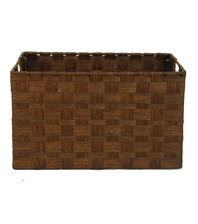Organizing Essentials™ Paper Rope Cube Basket Brown