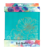 American Crafts Vicki Boutin Gold Foil Storage Binder, , hi-res