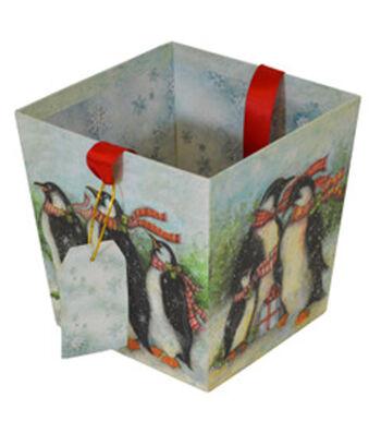 Maker's Holiday Open Bin-Penguin