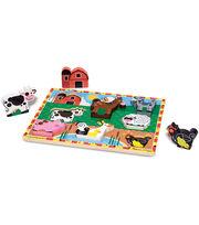 Melissa & Doug Farm Chunky Puzzle, , hi-res