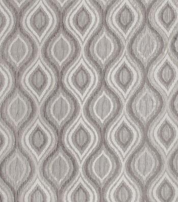 "Eaton Square Print Fabric 54""-Lanford/Charcoal"