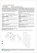 Mccall Pattern V1335 6-8-10-12--Vogue Pattern
