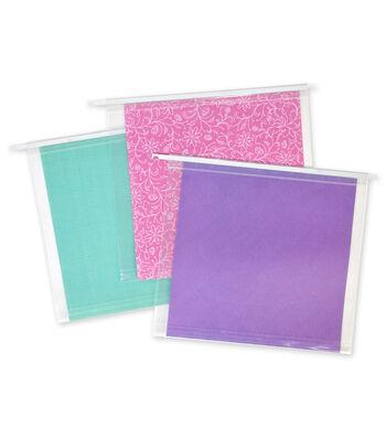 IRIS® Hanging Scrapbook File Folders
