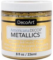 DecoArt Americana Decor Metallics 8oz Paint, , hi-res