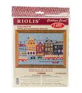 RIOLIS Counted Cross Stitch Kit 11.75\u0022X8.25\u0022-Tram Route