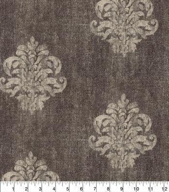Ellen DeGeneres Upholstery Fabric 54''-Charcoal Broadmoor