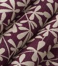 Robert Allen @ Home Lightweight Decor Fabric 54.5\u0022-Strie Toss Amethyst