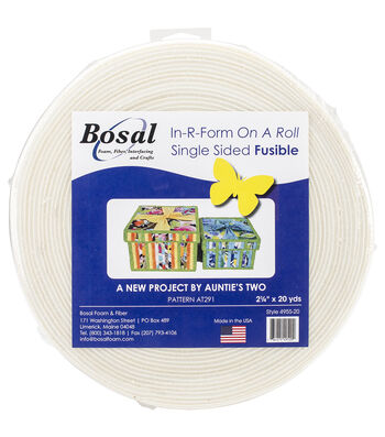 Bosal In R Form On A Roll Single Sided Fusible Foam Stabilizer